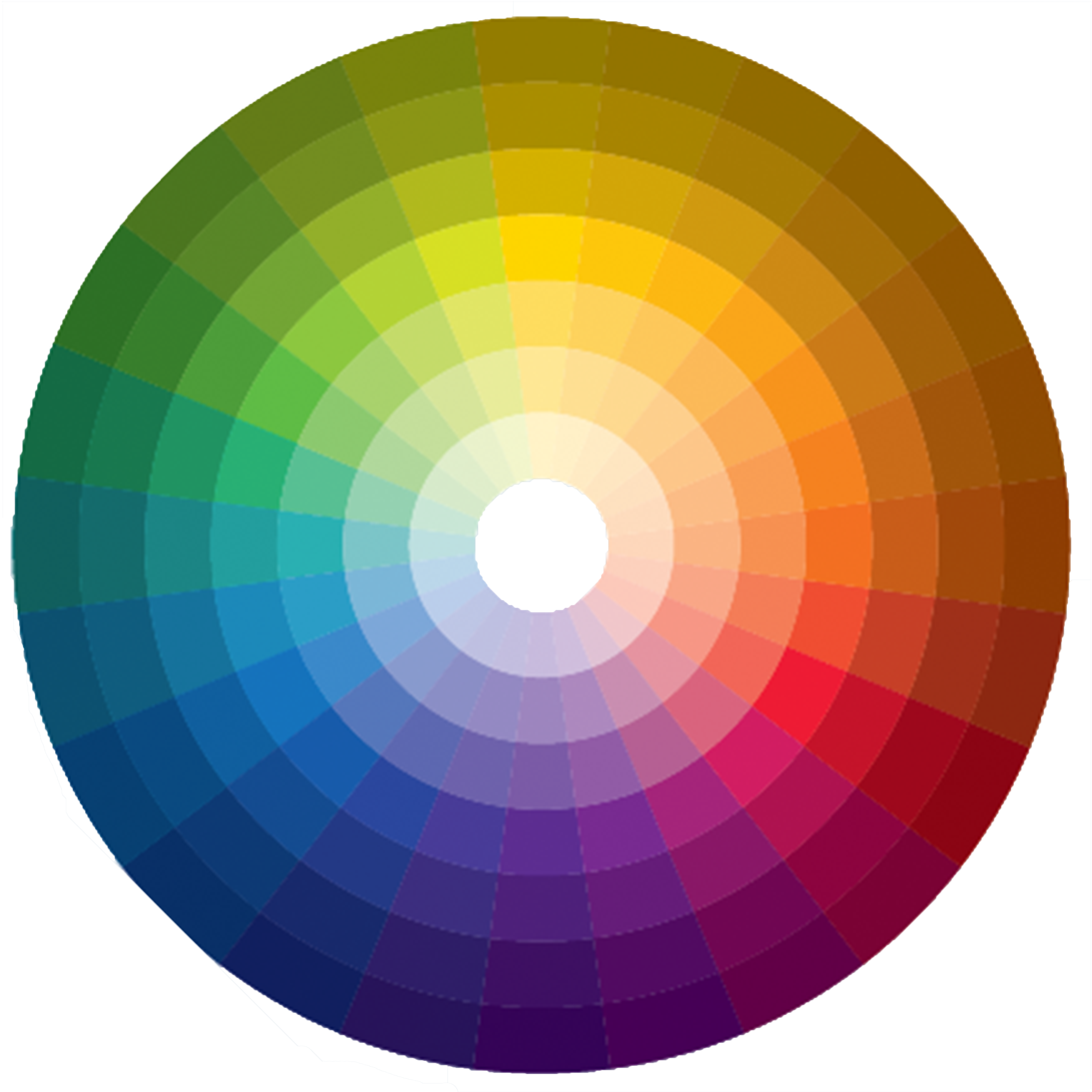 A level art and design fine art colour theory for Picture of colour wheel